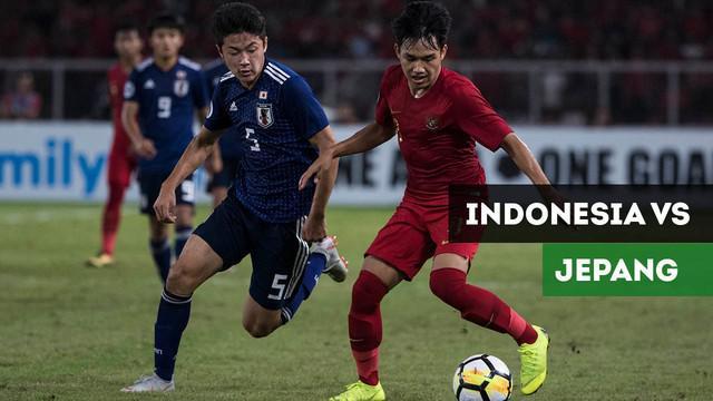 Berita Video Gol Spektakuler Jepang Ungguli Timnas Indonesia U-19 di Babak Pertama