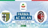 Serie A - Parma Vs AC Milan (Bola.com/Adreanus Titus)