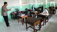 Ilustrasi Sekolah di tengah Pandemi (Arfandi Ibrahim/Liputan6.com)