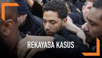 """Bintang Serial TV """"Empire"""" Jussie Smollett diduga membuat laporan palsu. Ia mengaku menjadi korban kekerasan rasisme."""