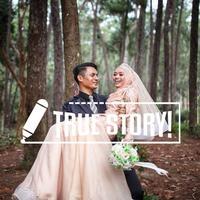 Mantan guru dan murid di Malaysia, ternyata berjodoh jadi suami istri. (Foto: twitter.com/shamsulbahari86)