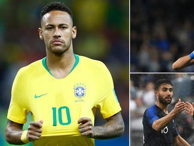 Kabar transfer pada Rabu (11/7/2018), diwarnai keinginan Real Madrid mendatangkan Neymar untuk menggantikan Cristiano Ronaldo yang hijrah ke Juventus. Berikut deretan kabar transfer selengkapnya. (Kolase foto-foto dari AFP)