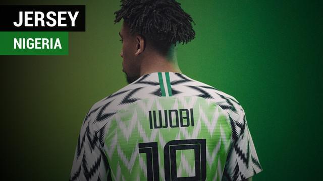 Berita video fakta-fakta terkait jersey Nigeria untuk Piala Dunia 2018 yang viral.