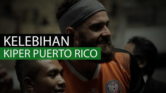 Berita video 3 kelebihan pemain Puerto Rico yang berminat berkarier di Indonesia. Siapakah dia? Ia adalah kiper Puerto Rico, Cody Laurendi.