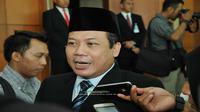 Taufik, usai memimpin rapat Paripurna di Gedung DPR RI, Senayan, Jakarta, Kamis (24/5/2018).