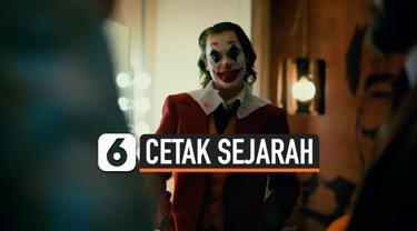 Film Joker mencetak sejarah karena menjadi film dewasa yang berhasil meraup pendapatan hingga USD 1 miliar. Film ini juga untung besar karena ongkos produksinya USD 62,5 juta.