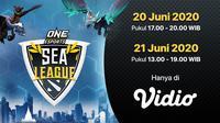 ONE ESports Dota 2 Sea Leagues. (sumber: Vidio)