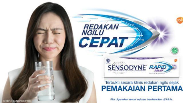 Sensodyne Solusi Cepat Atasi Ngilu Akibat Gigi Sensitif Health Liputan6 Com