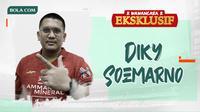 Wawancara Eksklusif - Diky Soemarno. (Bola.com/Dody Iryawan)