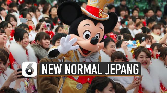 Menjelang diberlakukannya new normal. Beberapa negara di dunia sudah mempersiapkan cara-cara untuk menghadapinya. Seperti taman hiburan di Jepang ini.