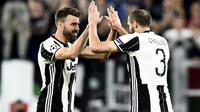 Juventus akan menambah durasi kontrak Andrea Barzagli dan Giorgio Chiellini. (doc. Juventus)