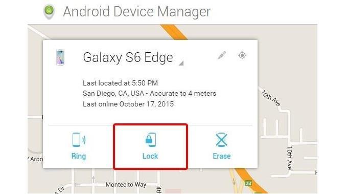 Pergunakan Android Device Manager untuk memasukkan sandi baru pada perangkat yang lupa password (Sumber: Wonderhowto)