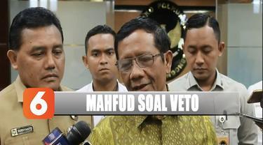 Usai rakor, Mahfud menjelaskan akan mengkoordinasikan kerja kementrian dibawahnya sesuai dengan visi dan misi Presiden Jokowi.