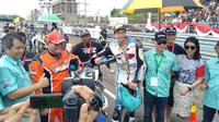 Pembalap Inggris Juara Muba Supermoto 2019  (istl