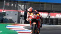 Pembalap Repsol Honda, Marc Marquez. (Twitter/Repsol Honda Team)
