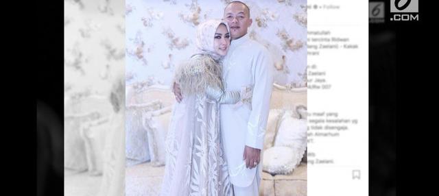 """Kakak kandung Syahrini, Ridwan Zaelani, mengembuskan napas terakhirnya, Selasa (25/9/2018). Kabar duka ini disampaikan langsung oleh pemilik jargon """"sesuatu"""" di akun Instagramnya."""