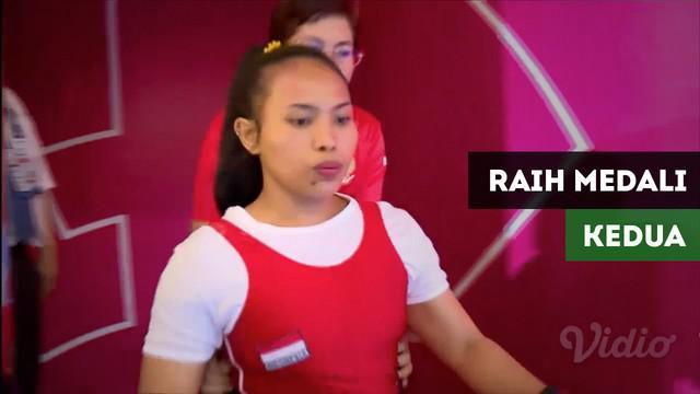 Berita video Ni Nengah Widiasih raih medali ke-2 untuk Tim Indonesia dari cabang olahraga angkat berat.