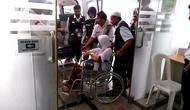 Jemaah Haji yang sakit (Liputan6.com/Muhammad Ali)