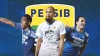 Piala Menpora - Winger Persib Bandung (Bola.com/Adreanus Titus)