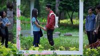 Adegan sinetron Siapa Takut Jatuh Cinta (Sinemart)