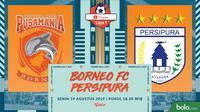 Shopee Liga 1 - Borneo FC Vs Persipura Jayapura (Bola.com/Adreanus Titus)