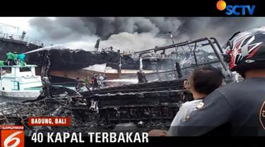 Selain faktor kesalahan manusia, Polda Bali juga menyoroti semrawutnya area parkir atau sandar kapal ikan di area tersebut.