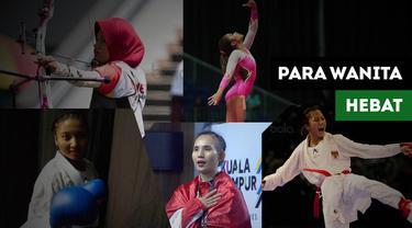 Berita video mengenai kiprah hebat atlet wanita Indonesiapada SEA Games 2017 yang mewarnai semangat Sumpah Pemuda di tahun 2018 ini.