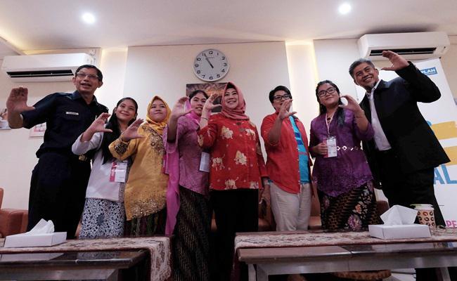 Acara 'Sehari Jadi Pemimpin' yang diadakan untuk mendukung peran  perempuan/copyright Vemale.com