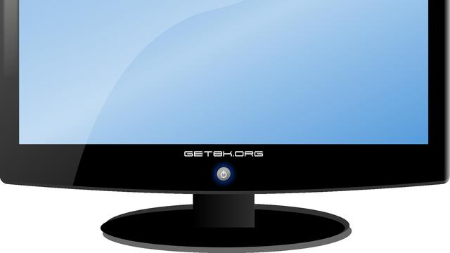 Monitor LCD (Sumber: Clker-Free-Vector-Images/pixabay.com)