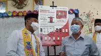 Sebanyak 500 penerima manfaat di Tambora, Jakarta Barat menerima Bantuan Sosial Tunai (BST) masing-masing sebesar Rp 300 ribu.