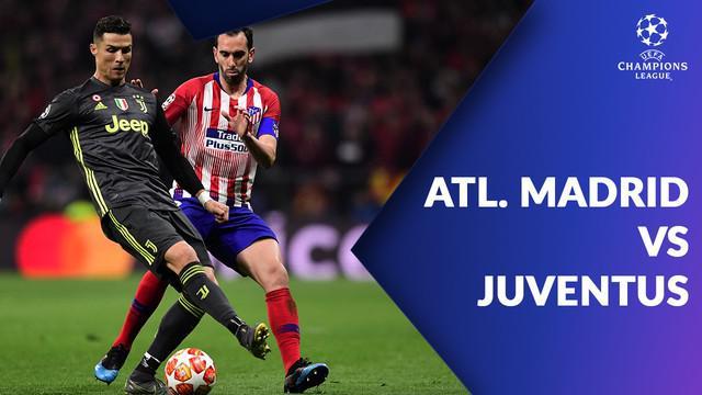 Berita video statistik Atletico Madrid vs Juventus pada babak 16 besar lanjutan Liga Champions leg 1, Kamis (21/2/2019).