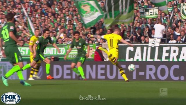 Marco Reus dan Andre Schurrle gagal memanfaatkan peluang karena Jiri Pavlenka bermain luar biasa untuk membantu Werder Bremen mena...