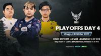 Link Live Streaming Grand Final MPL Indonesia Season 8 di Vidio Hari Ini. (Sumber : dok. vidio.com)
