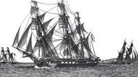 Kapal Medusa angkat sauh dari Rochefort pada 17 Juni 1816 menuju Senegal (Wikipedia/Public Domain)
