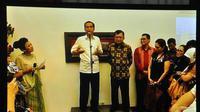 Pembubaran Pokja Tim Transisi dihadiri Kepala Staf Rumah Transisi Rini Soemarno, dan beberapa deputi seperti Akbar Faisal dan Andi Widjajanto, Jakarta, (28/9/14). (Liputan6.com/Miftahul Hayat)