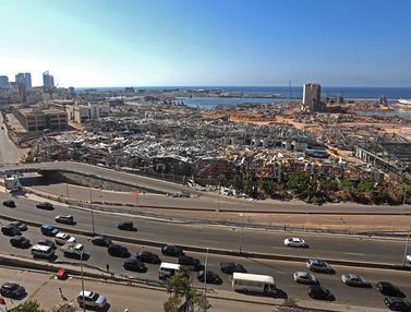 Begini Dampak Pascaledakan di Beirut