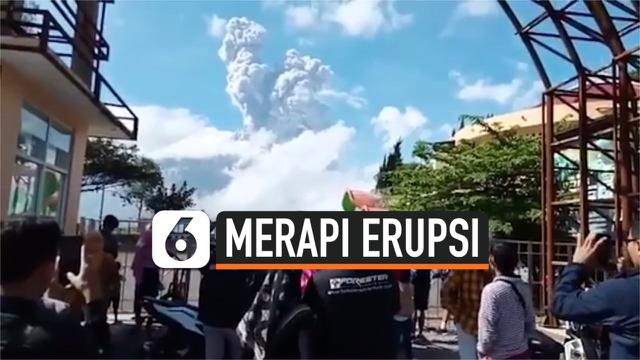 MERAPI ERUPSI