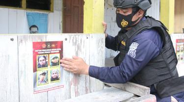 Satgas Madagoraya Sebarkan Foto Terduga Teroris Poso