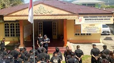 Bawaslu Sulut intruksikan jajarannya patroli hingga pelaksanaan Pemilu 2019 (Liputan6.com/ Yoseph Ikanubun)