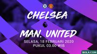 Premier League - Chelsea Vs Manchester United (Bola.com/Adreanus Titus)