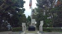 Monumen Pasir Pahlawan Oto Iskanda Dinata. (Huyogo Simbolon)