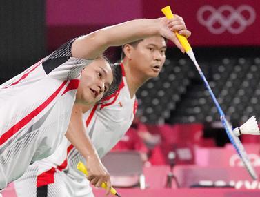 Foto: Ditaklukkan Unggulan Pertama, Praveen Jordan / Melati Daeva Oktavianti Angkat Koper dari Olimpiade Tokyo 2020