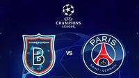 Liga Champions - Istanbul Basaksehir Vs PSG (Bola.com/Adreanus Titus)