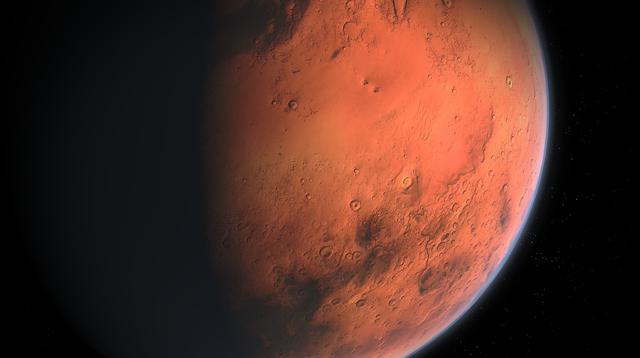 Ilustrasi Planet Mars (Aynur Zakirov/Pixabay).