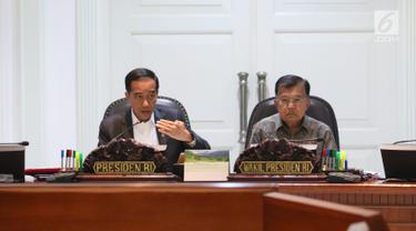 Jokowi Gelar Rapat