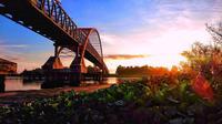 Jembatan Kahayan, Palangkaraya, Kalimantan Tengah. (Sumber Foto: yopansudianto/Instagram)