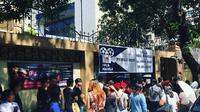 Suasana antrean WNI yang mengikuti pemilu oleh PPLN Manila di ibu kota Filipina (Liputan6.com/@kbri_manila)
