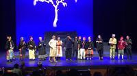 """Teater Gandrik Yogyakarta garapan Butet Kertaradjasa dalam pentas berjudul """"Para Pensiunan: 2049"""". foto: Teddy"""