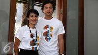 Dian Sastro dan Nicholas Saputra kembali membintangi film Ada Apa dengan Cinta? 2. [Foto: Herman Zakaria/Liputan6.com]