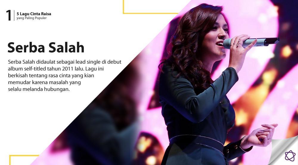 5 Lagu Cinta Raisa yang Paling Populer. (Foto: Deki Prayoga/Bintang.com, Desain: Nurman Abdul Hakim/Bintang.com)